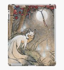 Fox & Wisps - Kitsune Yokai Foxfire  iPad Case/Skin