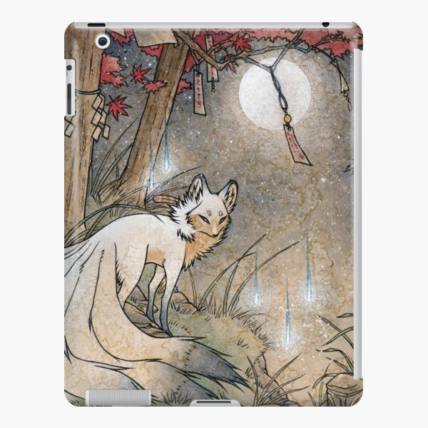 Fox & Wisps - Kitsune Yokai Foxfire  iPad Snap Case