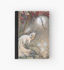 Fox & Wisps - Kitsune Yokai Foxfire  Hardcover Journal