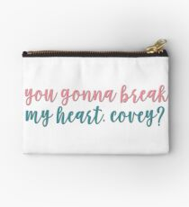 you gonna break my heart, covey? - to all the boys i've loved before Studio Pouch