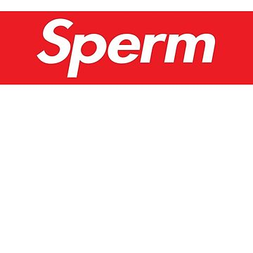 Sperm Red Box Design by TNTmerchandise