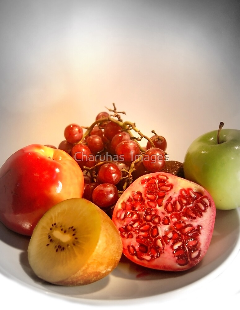 Organic Fruits - Healthy Choice by Charuhas  Images