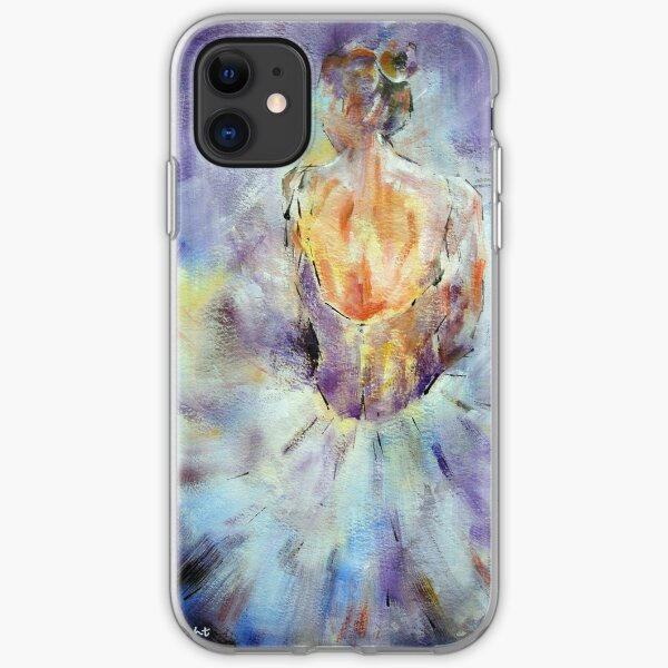 Ballerina - A Little Rest -  Ballet & Dance Art Gallery iPhone Soft Case