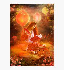 The Poetess Photographic Print