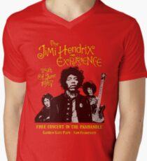 The Jimi Hendrix Experience Men's V-Neck T-Shirt