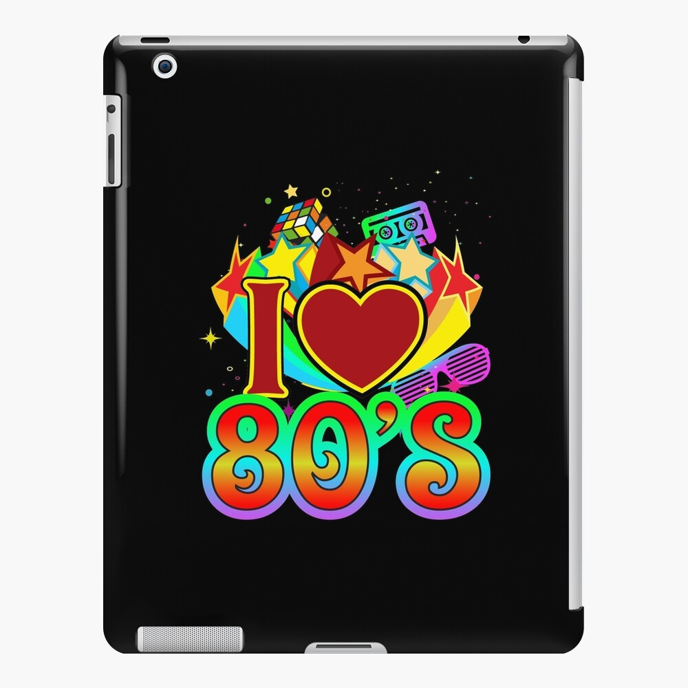 I Love The 80's Eighties iPad Case & Skin