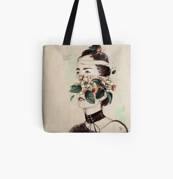 DIVIDED III All Over Print Tote Bag