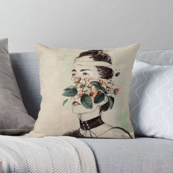 DIVIDED III Throw Pillow