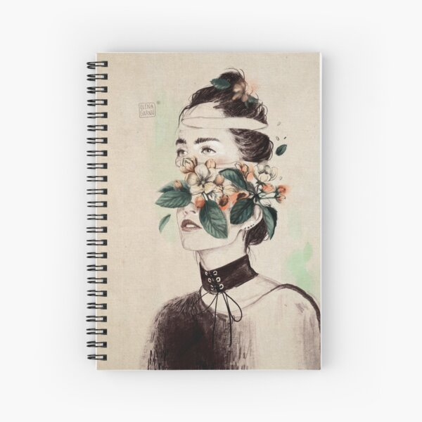 DIVIDED III Spiral Notebook