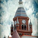Old Red Courthouse Textured by Colleen Drew