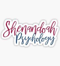 Shenandoah University Psychology Sticker
