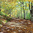'ALONG THE WOODED TRAIL' by Jerry Kirk