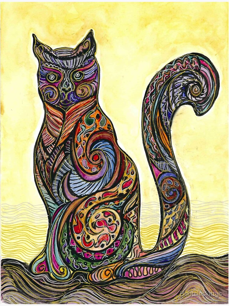 Cat of Many Colors de Bootsieskittys