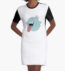 Super Ghost Boo  Graphic T-Shirt Dress