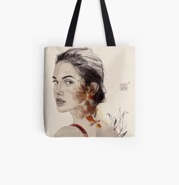 VALENTINA All Over Print Tote Bag