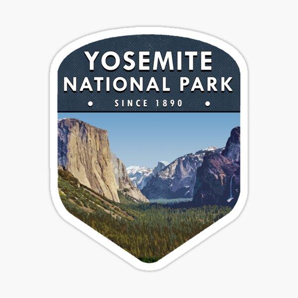 Yosemite National Park 2 Sticker