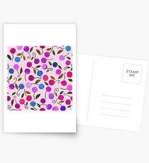 cherry-berrie jumble ... Postcards