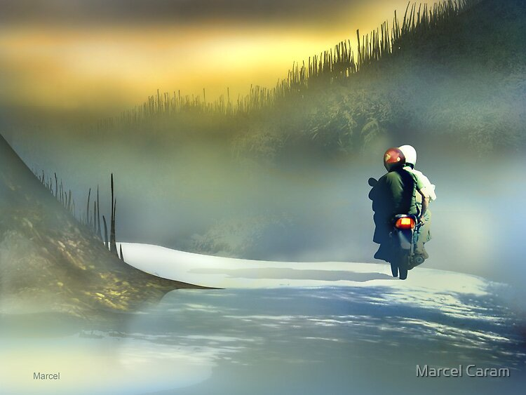 A Moto by Marcel Caram