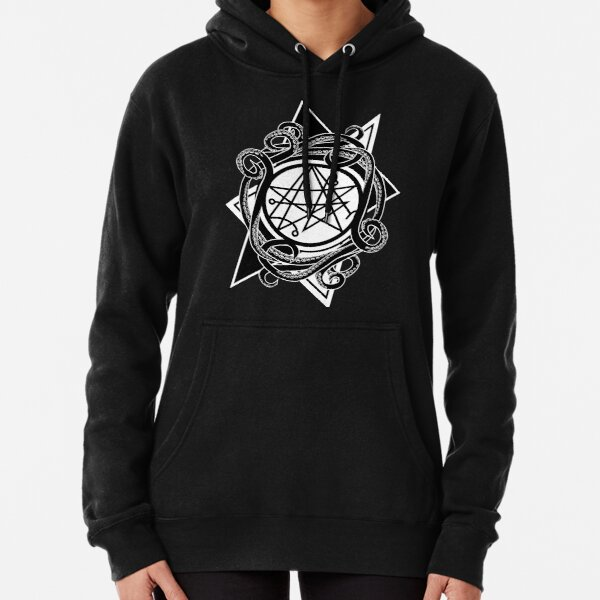 Necronomicon gate - Sigil of the gateway Pullover Hoodie
