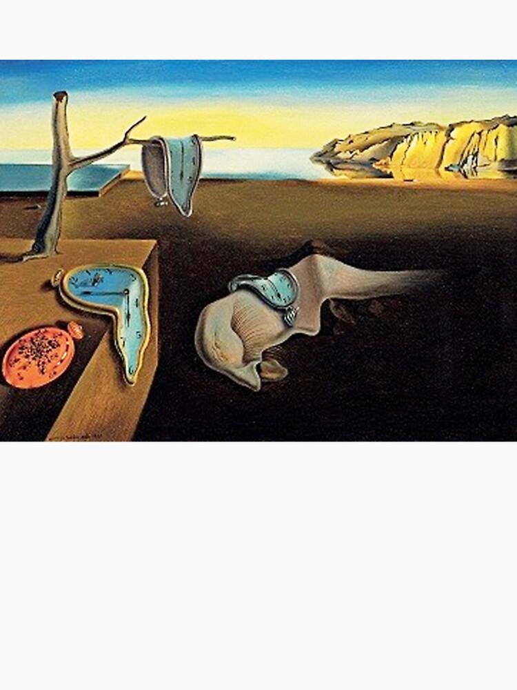 DALI, Salvador Dali, Die Beständigkeit der Erinnerung, 1931 von TOMSREDBUBBLE