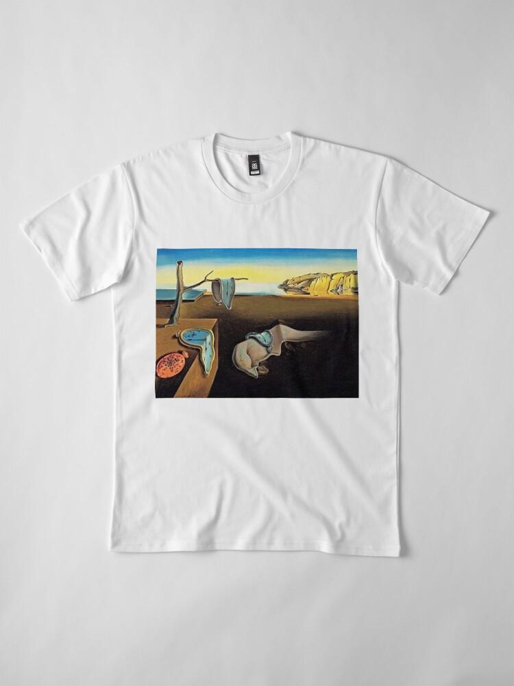 Alternative Ansicht von DALI, Salvador Dali, Die Beständigkeit der Erinnerung, 1931 Premium T-Shirt