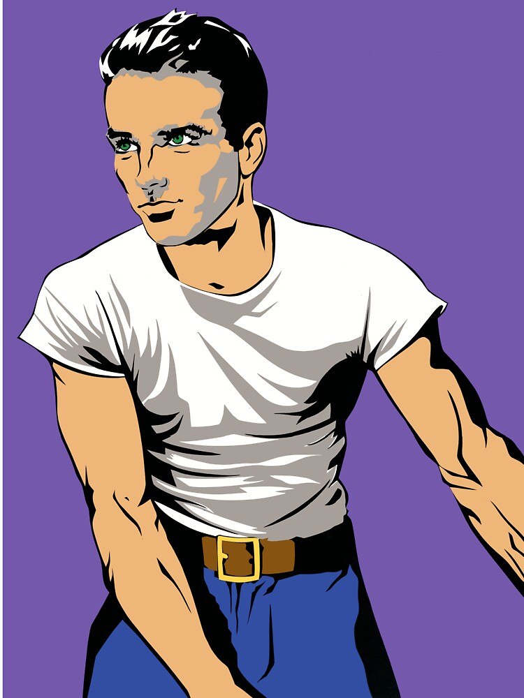 Montgomery Clift by richackoon