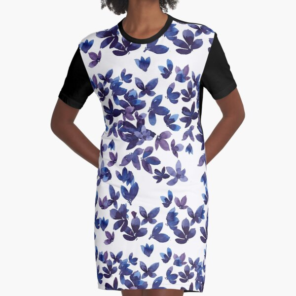 Born to Butterfly Graphic T-Shirt Dress