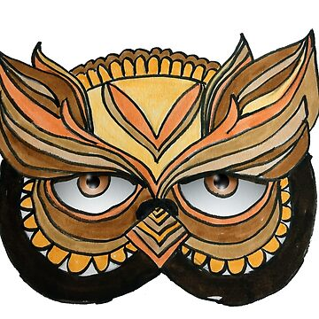 Owl Mask by twinkletoes21