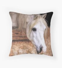 Looking For Handouts Throw Pillow