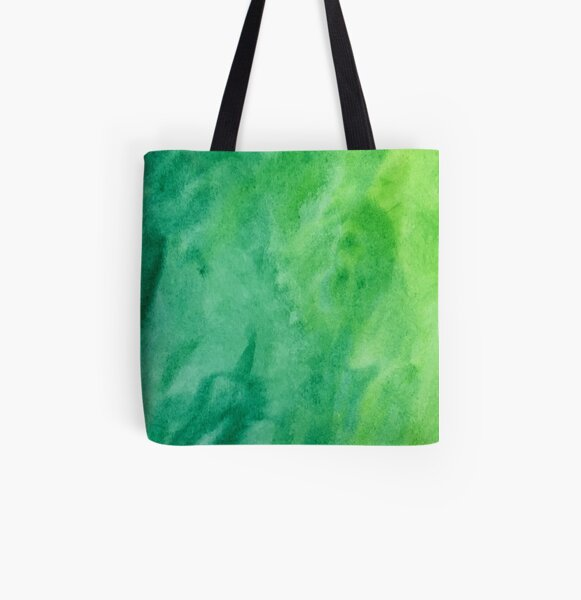 Mean and Green All Over Print Tote Bag