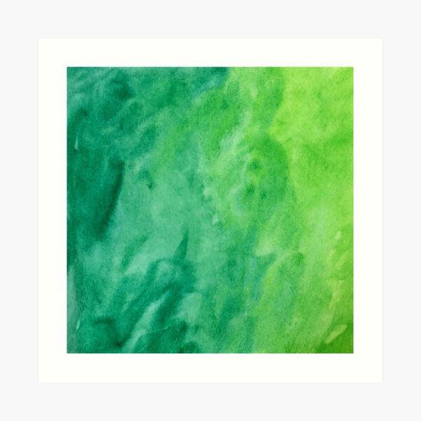 Mean and Green Art Print