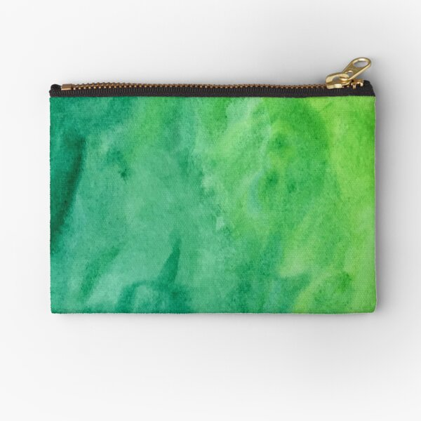 Mean and Green Zipper Pouch