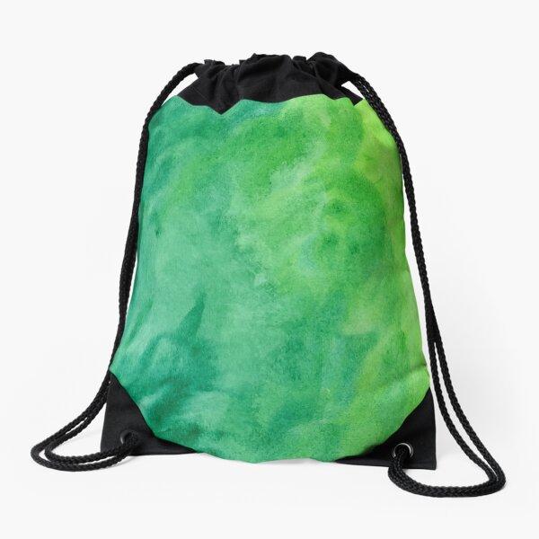 Mean and Green Drawstring Bag