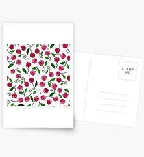 cherry-berrie jumble ... (red) Postcards