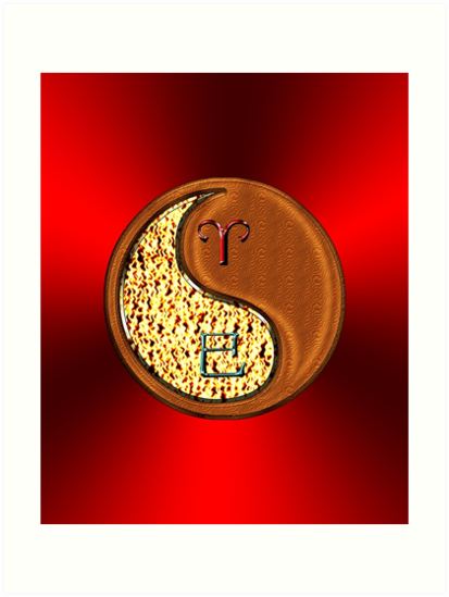 Aries & Snake Yin Wood by astrodesigner75