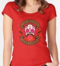 Liga Mexicana de Lucha Picante Women's Fitted Scoop T-Shirt