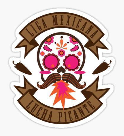 Liga Mexicana de Lucha Picante Sticker