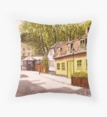 Old Stockholm Throw Pillow