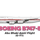 Boeing B747-8 - Abu Dhabi Amiri Flight by TheArtofFlying