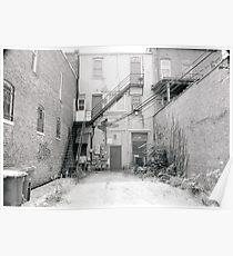 Alley Back Door Poster