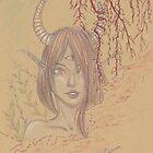 « Démone dans la brume » par Omelia-Plude