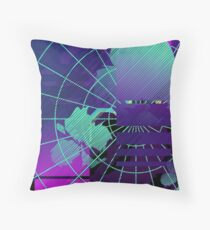Vaporwaves Floor Pillow