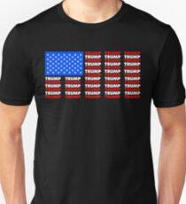 Re-Elect Trump for President. Keep America Great! Dark Unisex T-Shirt