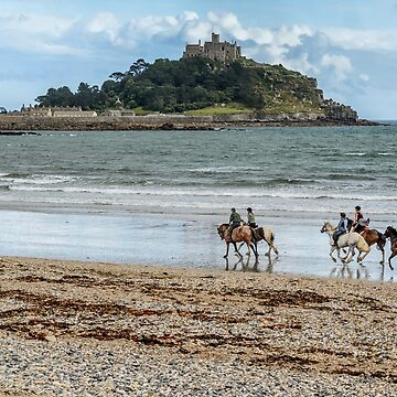 Evening Canter at Marazion by Lissywitch