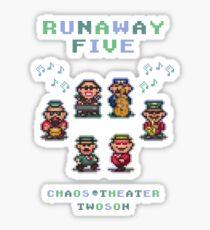 Runaway Five Sticker