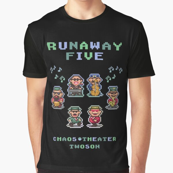 Runaway Five Graphic T-Shirt