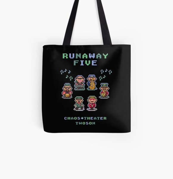 Runaway Five All Over Print Tote Bag