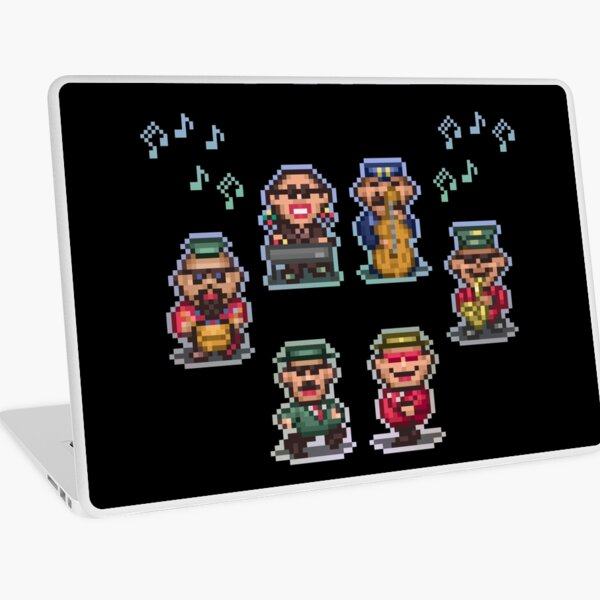 Runaway Five Laptop Skin