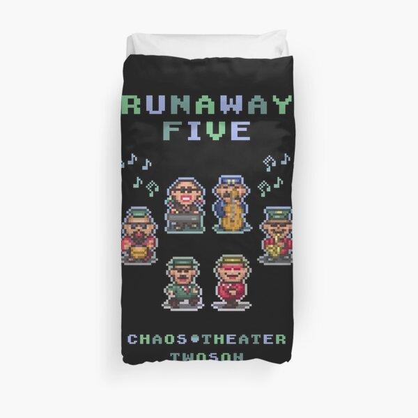 Runaway Five Duvet Cover