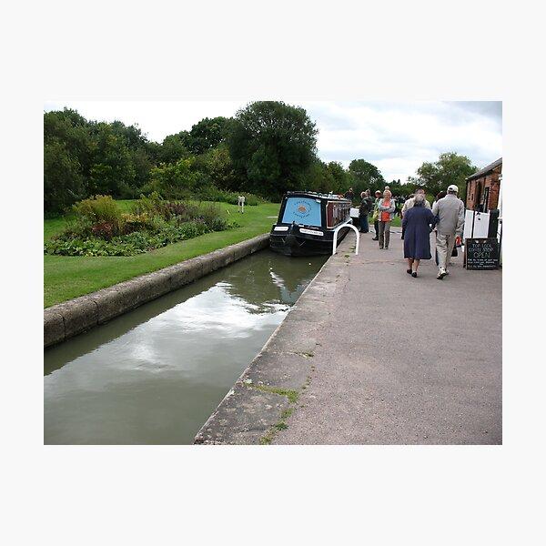 Foxton Locks, Leicestershire (5128) Photographic Print